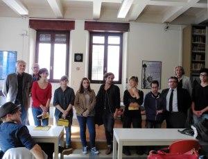Alcuni degli studenti premiati con borse di studio