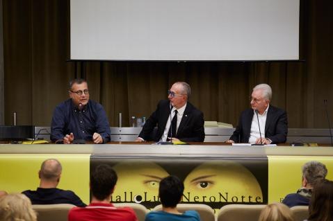 Da sinistra: Carlotto, Galeati, Mazza (foto Alessandro Carnevali)