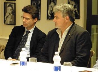 Da sinistra: Nicola Gallo e Antonio Fusco